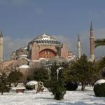 Hagia Sophia - Snowy Day