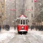 Tramvay 8 Taksim KIŞ