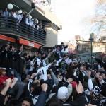 Supporters de Beşiktaş avant un match