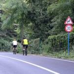 Cyclistes dans la forêt de Belgrade à Istanbul