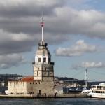 La tour de Léandre à Istanbul
