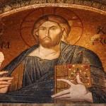 détail mosaïque Saint-Sauveur in Chora