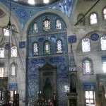 salle de prière de la mosquée Sokullu Mehmet