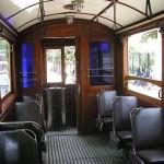 A l'intérieur du tramway nostalgique d'Istiklal Caddesi