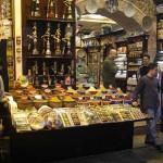 Boutique du bazar aux épices d'Istanbul