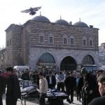 Entrée principale du bazar égyptien d'Istanbul