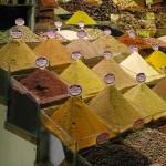 Epices du bazar égyptien d'Istanbul
