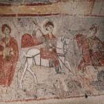 Fresque de l'église Yılanlı à Göreme