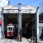 L'atelier du tramway nostalgique d'Istiklal Caddesi