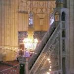 Minbar, mosquée Selimiye, Edirne