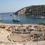 Port antique de Cnide