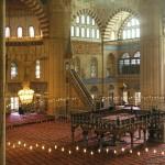 Salle de prière mosquée Selimiye, Edirne