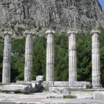 Temple d'Athéna site de Priène