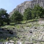 Théâtre du site de Priène