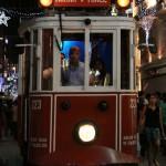 Tramway nostalgique d'Istanbul