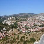 Vue sur la vieille ville de Kütahya du haut de la citadelle