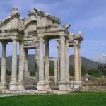 la porte monumentale d'Aphrodisias