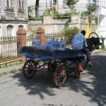 livreur d'eau à Büyükada