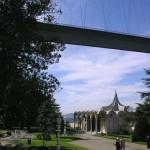 Dans le parc du palais de Beylerbeyi