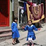 Deux écolières d'Istanbul