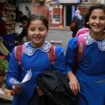 Ecolières d'Istanbul