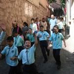 Jour de rentrée scolaire à Istanbul