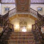 L'élégant escalier principal du palais de Beylerbeyi