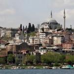 La mosquée Yavuz Sultan Selim et la mosquée des Roses
