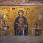 Une des mosaïques à l'étage de Ste-Sophie