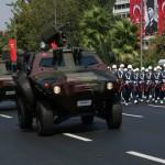Défilé fête de la Victoire à Istanbul