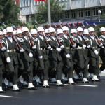 Défilé militaire à Istanbul pour la fête de la Victoire
