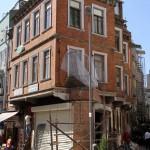 Dans une rue piétonne de Beşiktaş