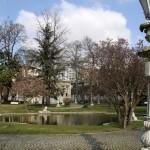 Le parc de Ihlamur Kasrı à Beşiktaş