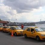 Taxi à l'embarcadere