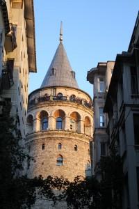 La tour de Galata vue de Şişhane