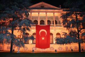 Palais de Dolmabahçe à Istanbul