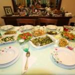 Repas durant la fête du sacrifice