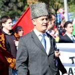 Vétéran jour de la fête de la République turque