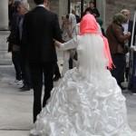 Mariés en pélerinage à Eyüp