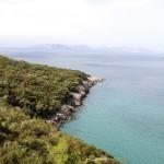 Merveilleux paysage du parc national de Dilek