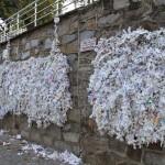 Mur des voeux à la maison de la Vierge à Ephèse