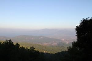 Vur sur la Mer Egée du haut de la Maison de la Vierge à Ephèse