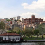 Le lycée grec de Fener surplombant la Corne d'Or