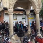 A l'approche du marché aux pigeons d'Urfa