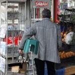 Cireur de chaussures d'Istanbul
