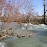 Niveau d'eau très élevé aux chutes de Manavgat