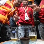 Supporters de Galatasaray à Nevizade