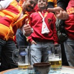 Supporters de Galatasaray à Nevizade