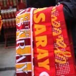 Vendeurs d'accessoires pour les supporters de Galatasaray
