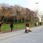 Aménagement le long de la mer de Marmara à Kadıköy-Moda